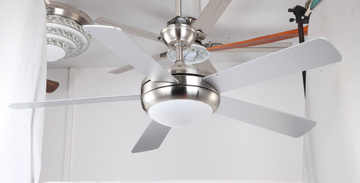 modern brushed nickel ceiling fans with lights