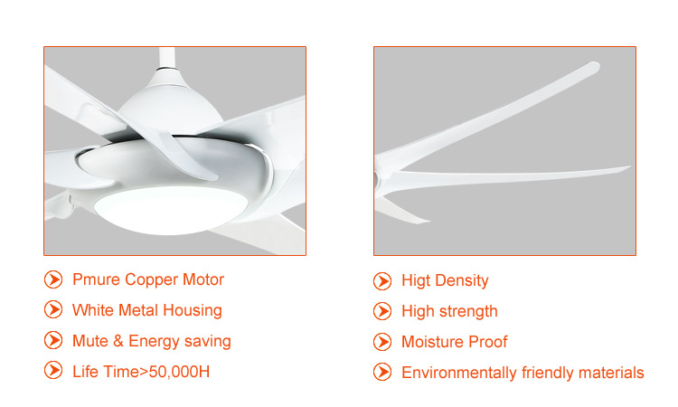 large dc ceiling fan light and remote
