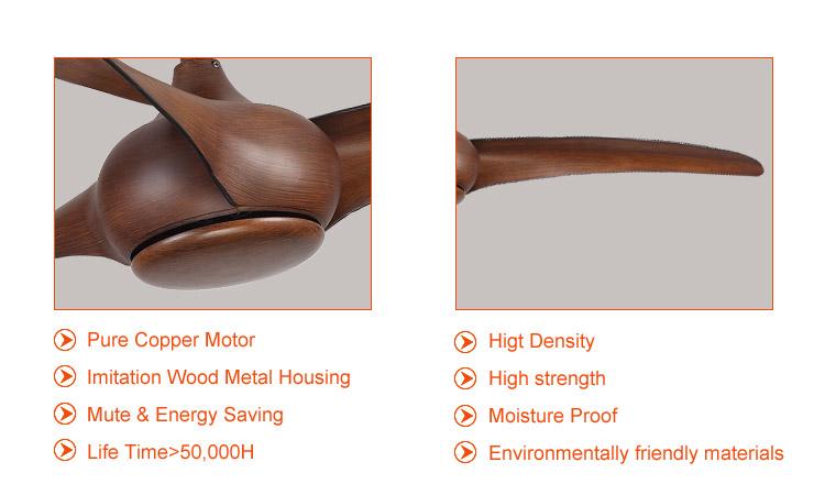 modern wood ceiling fans