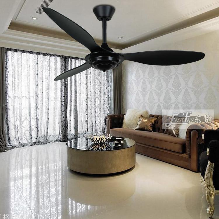 Proud Ef52073 52 Black Ceiling Fan With Remote Ceiling Fan