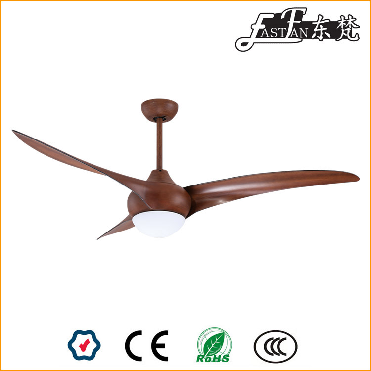 DC ceiling fan with light