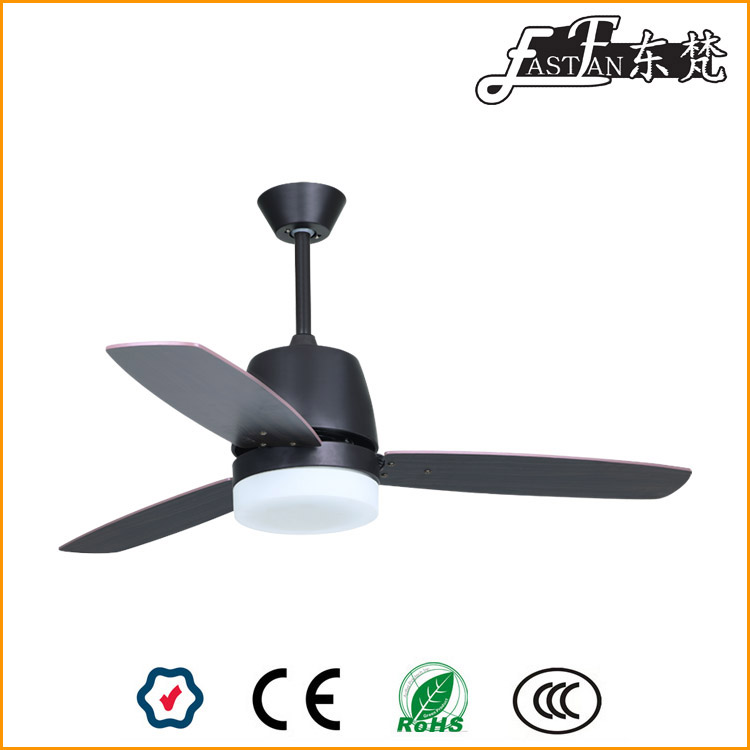 Black ceiling fans with lights