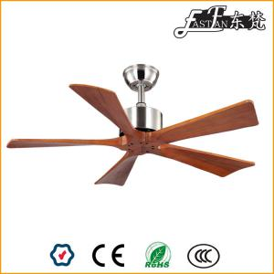 42in modern solid wood ceiling fan without light