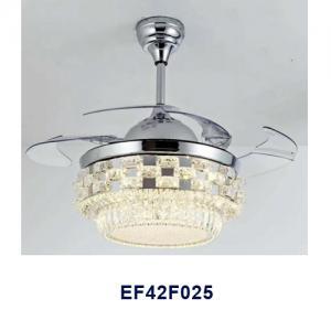 Ventilateur de plafond rétractable