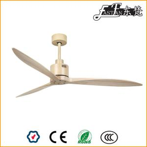 flush mount natural wood ceiling fans