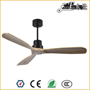 Contemporary natural wood  ceiling fans
