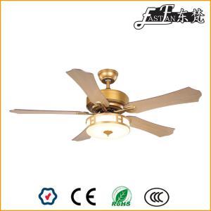 52 inch 5 blades designer ceiling fans with lights