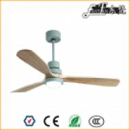 52 inch natural wood ceiling fan lights,