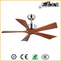 ventilateur de plafond en bois sans lumière