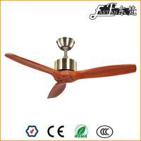 Ventilateurs de plafond modernes en bois naturel de 42 pouces