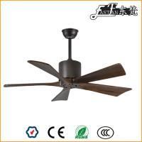 Ventilateur de plafond à 5 pales en bois, pas de lumière