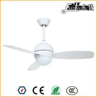 Ventilateur de plafond blanc de 42 pouces avec lumière