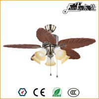 Ventilateur de plafond rural 46 pouces 5 lumières