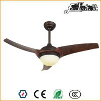 48 inch modern wood ceiling fan led light