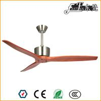 52in solid wood ceiling fan no light