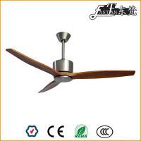 ventilateur de plafond en bois naturel pas de lumière