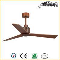 Ventilateurs de plafond à 3 pales en bois naturel
