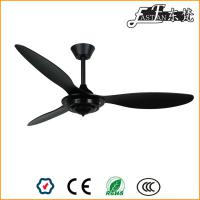 52 inch modern bedroom black ceiling fans