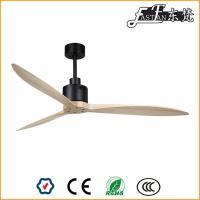 52 ventilateur de plafond en bois naturel