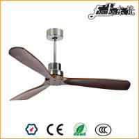 52 inch brushed nickel natural wood ceiling fans
