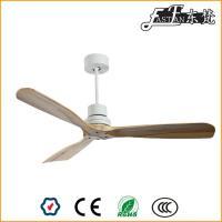52 pouces meilleurs ventilateurs de plafond en bois naturel