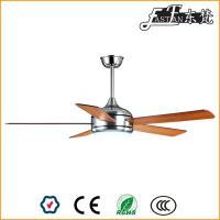Ventilateur de plafond de nickel brossé avec éclairage