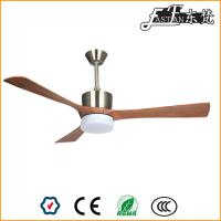 52 inch natural wood ceiling fan with light
