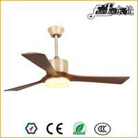 Ventilateur de plafond en bois avec éclairage