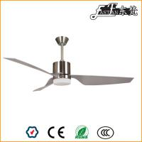 52 inch ABS blades brushed nickel ceiling fan with light