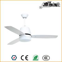 52in white modern living room ceiling fan with lights
