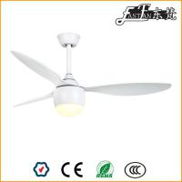 52 inch bedroom modern white ceiling fan with lights