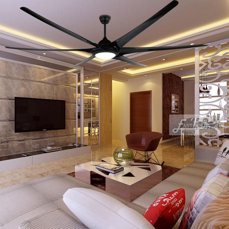 Proud Ef100105b Black Ceiling Fan With